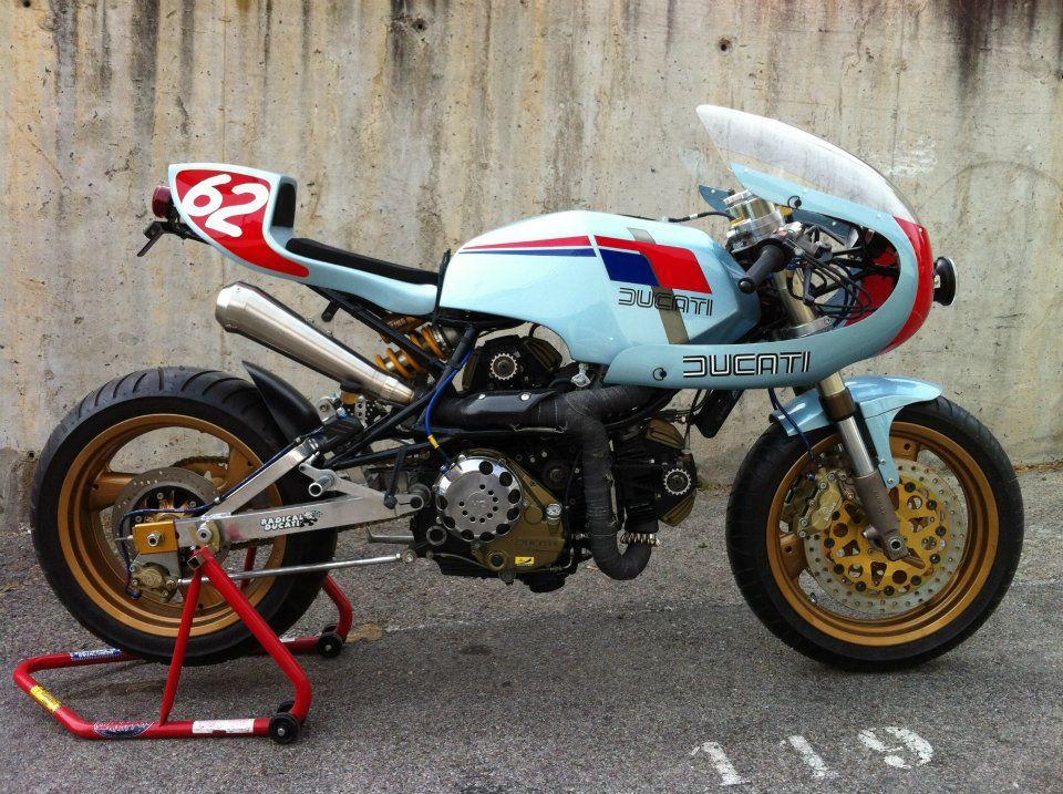 Cafe Racer Engines, Fuel & Passions Ducati, Retro