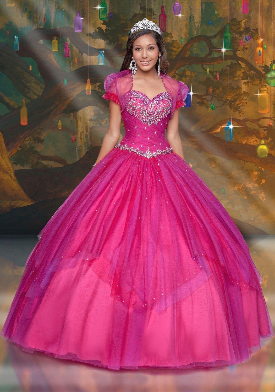 Disney Royal Ball Quinceanera Dress Tiana Style 41091 | 15 años ...