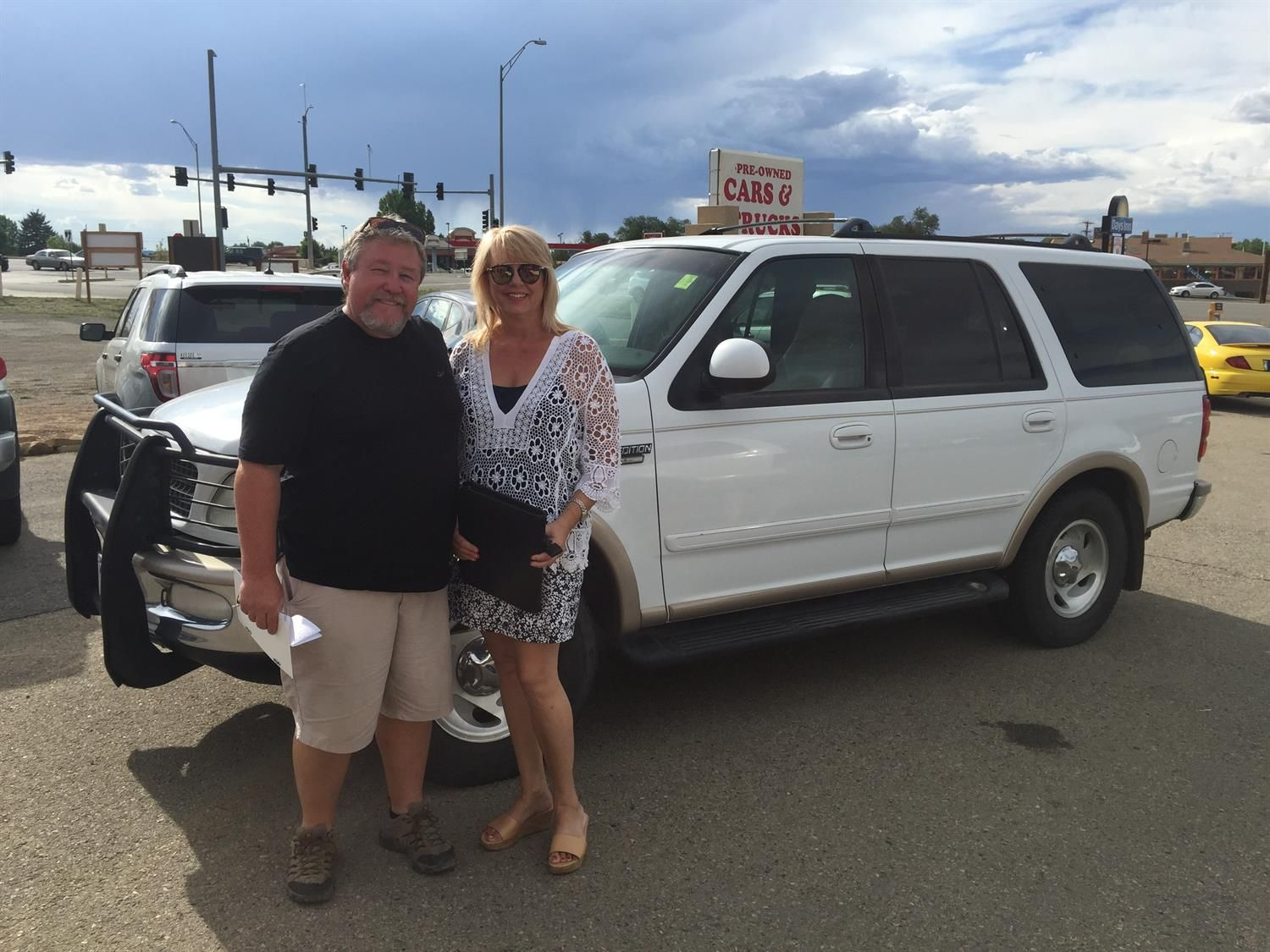 bud and nancy s new 1997 ford expedition congratulations and best