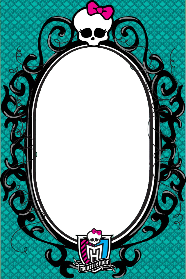 monster high picture frame by shaibrooklyn on deviantart bello pinterest motive und malen. Black Bedroom Furniture Sets. Home Design Ideas