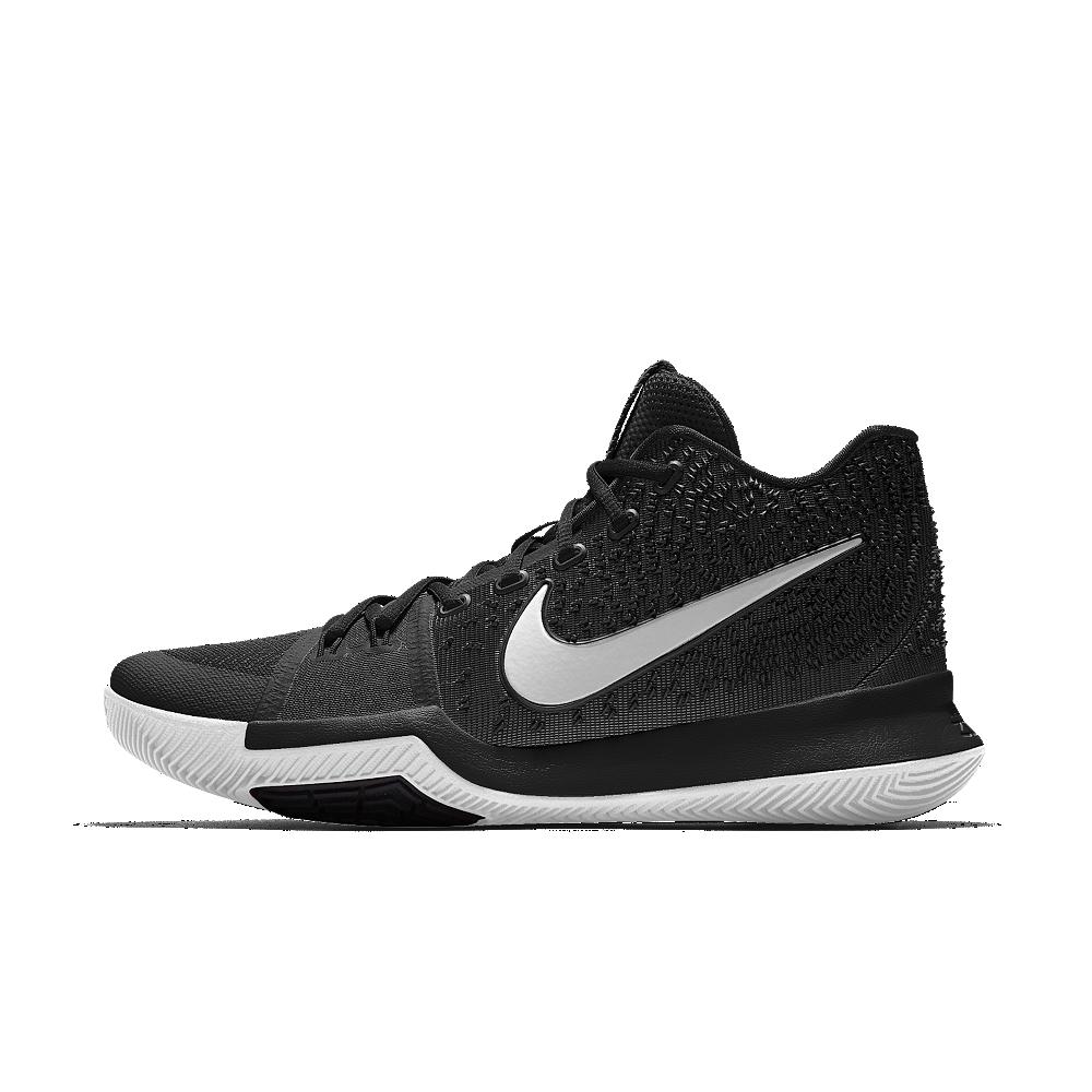 quality design 48984 68a13 Nike Kyrie 3 iD Big Kids' Basketball Shoe Size 6.5Y (Black ...