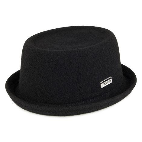 Kangol Hats Wool Mowbray Porkpie Hat Black Kangol Hats Mens Hats Fashion Hats For Men
