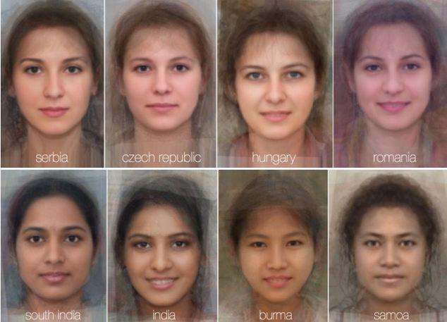 Average romanian women