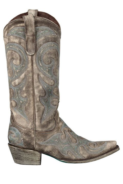 5b8644d0f49 Lane Women s Love Sick Cowgirl Boots  distressed