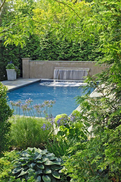 Lloyds lane backyard botanical decorators landscaping for Pool design northern virginia