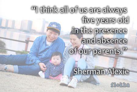 sherman alexie family