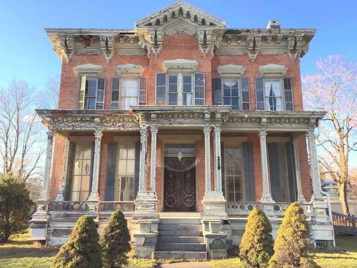 Image Result For Abandoned Buildings Anamosa Iowa Casas Victorianas Casas Bonitas Casas