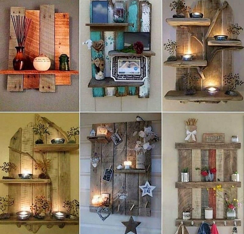 Creative Home Furnishing Out of Used Wood Pallets ...
