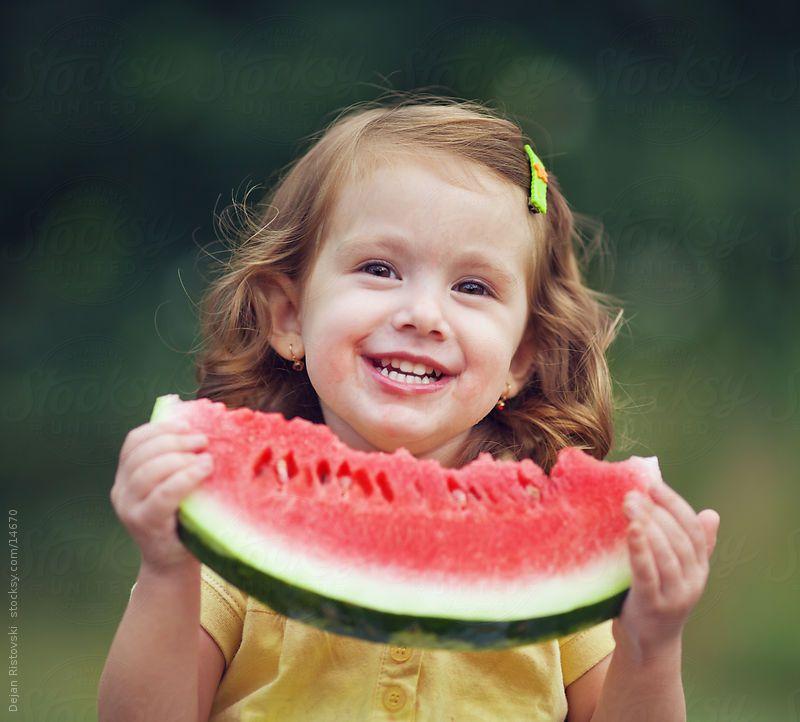 Smiling watermelon by Dejan Ristovski