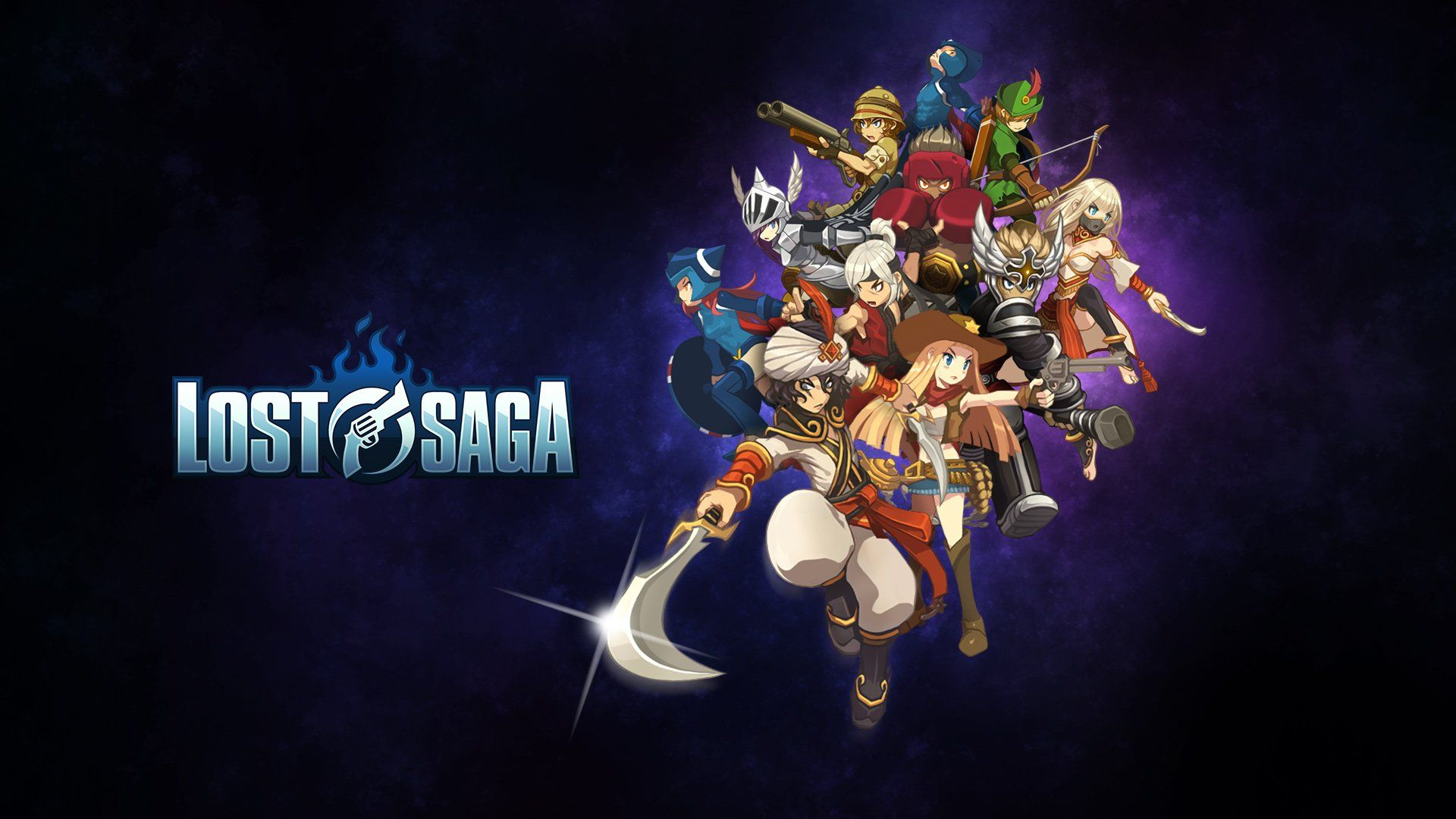 LOST SAGA mmo fantasy anime fighting 1losts dungeon action rpg