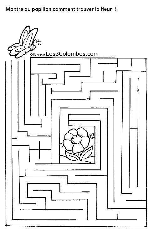 Labyrinthe a imprimer 33 imprimer pinterest labyrinthe coloriage en ligne gratuit et - Jeu labyrinthe a imprimer ...