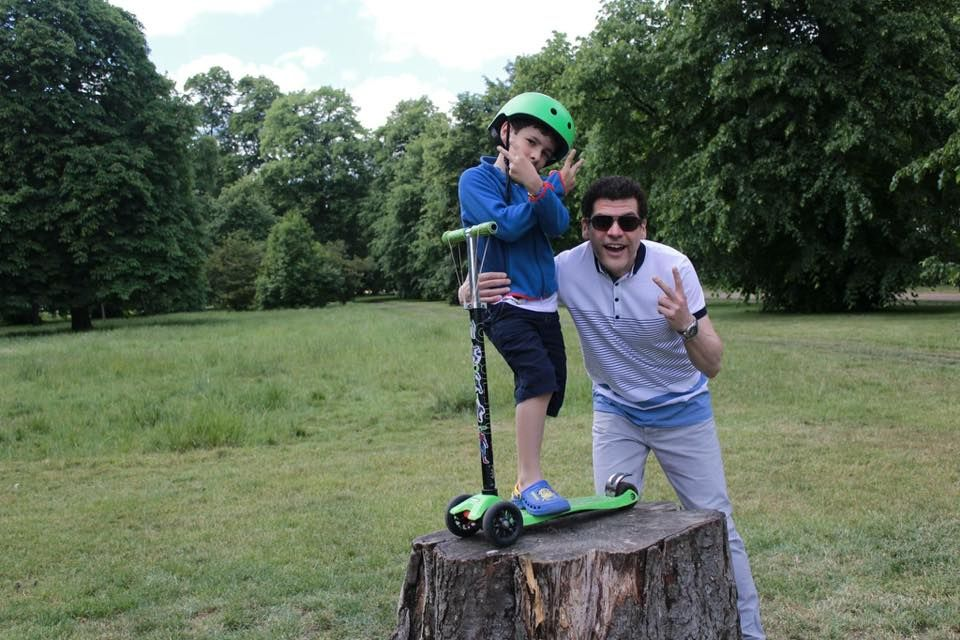 #dadandme #microscooters #fathersday #competition #family #adultscooting