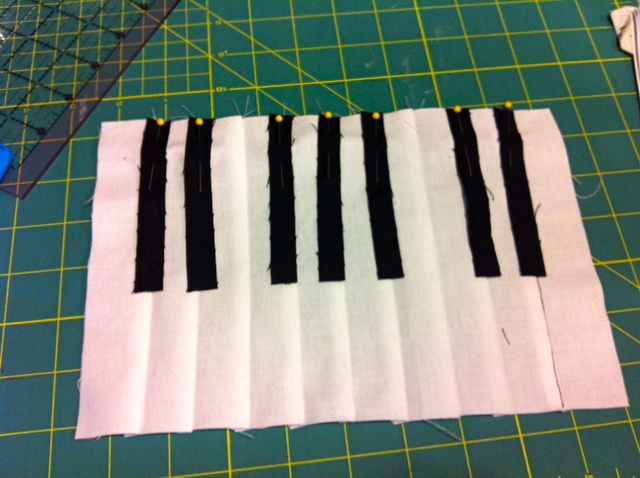 Bettina Danger: Piano Mug Rug Tutorial