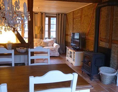 Kamin-Haus Nr2 mit Sauna in Burg - Ferienhaus Burg Fehmarn - norderney ferienwohnung 2 schlafzimmer