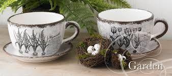 Cute spring tea cups