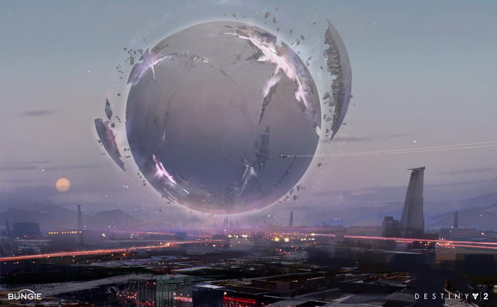 Concept Art Destiny 2 Traveler Destiny Destiny Game Destiny