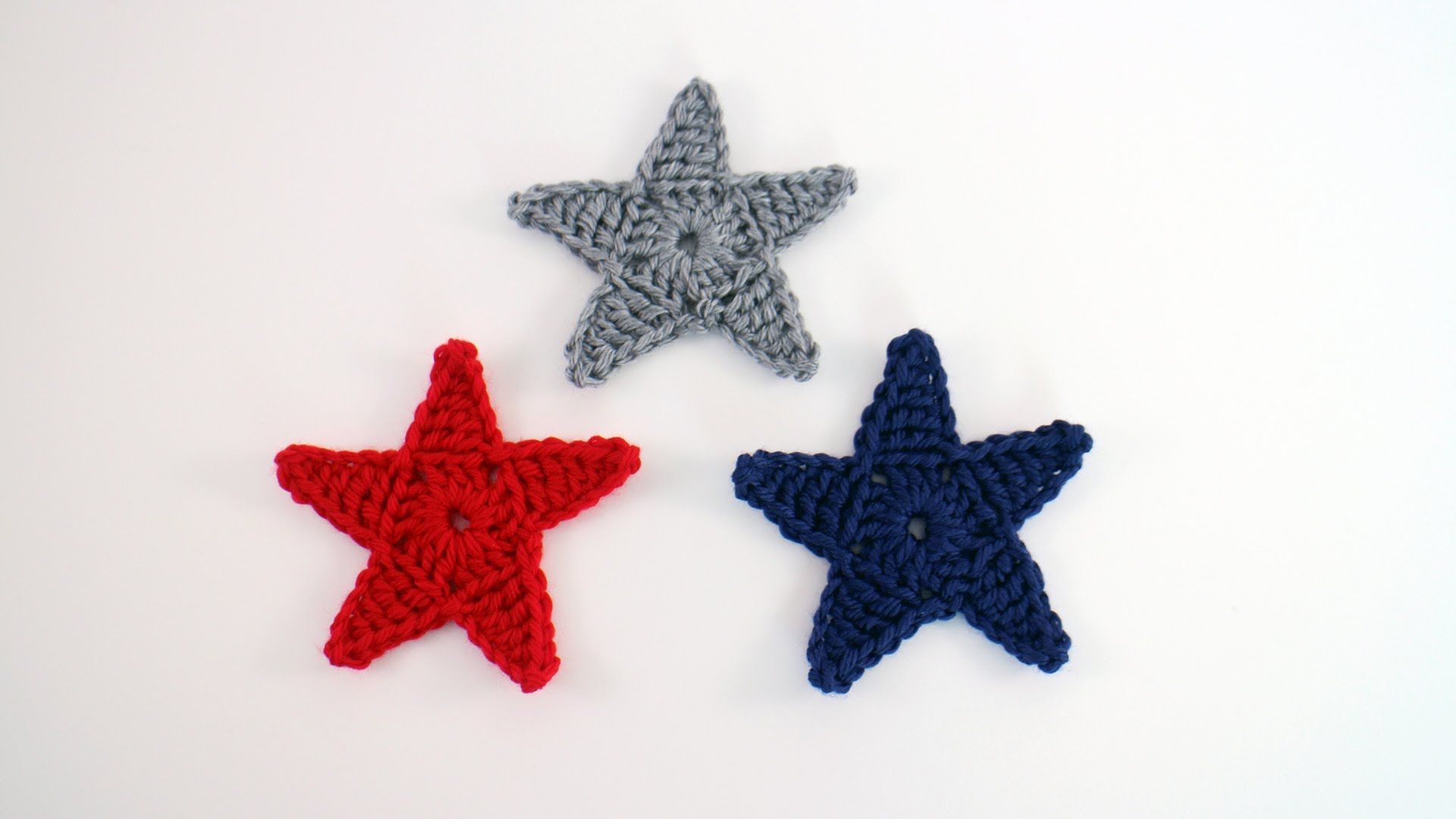 Crochet Star Applique | Handcrafts and shitty things | Pinterest ...