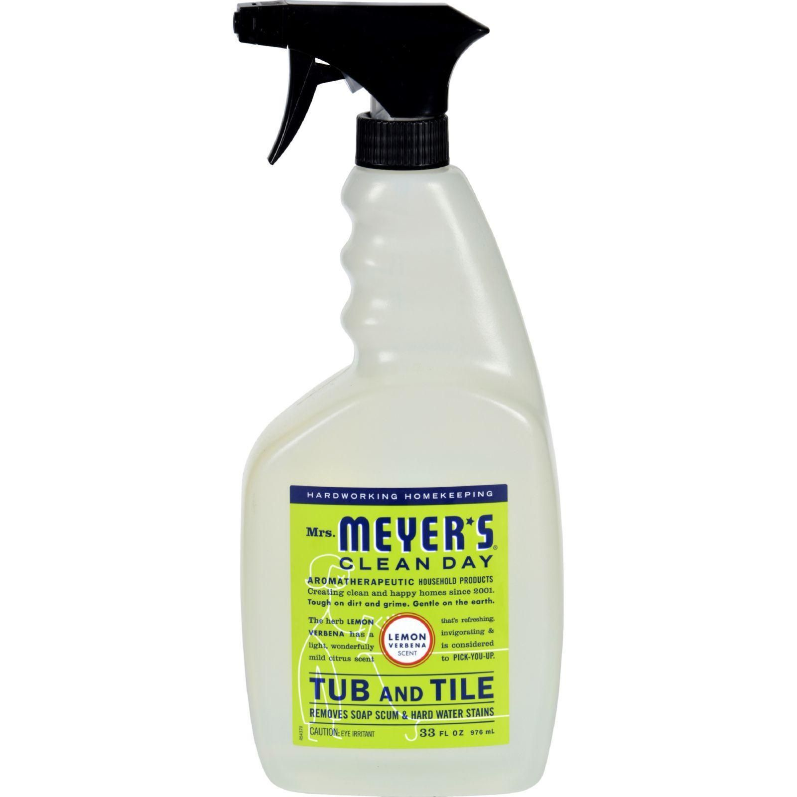 Mrs Meyer S Clean Day Tub And Tile Cleaner Removes 4x More Soap