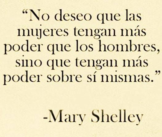 Mary Shelley Frases Frases Reflexion Y Frases Celebres