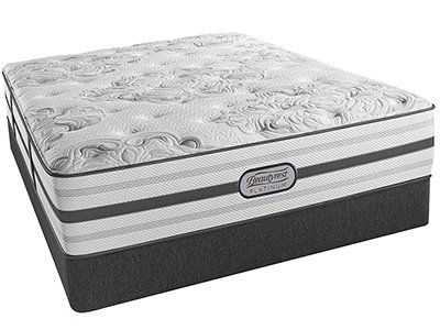 Beautyrest Platinum Dakota Plush King Mattress Harris Furniture