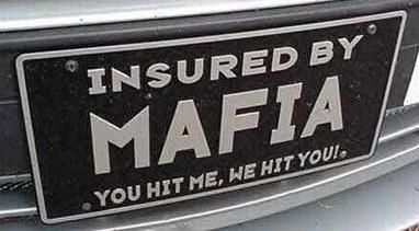 This would be a wonderful license plate (though there's no way it adheres to any state regulations)!