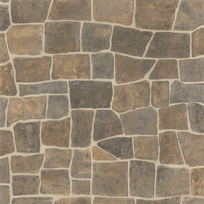 RUSTIC BEIGE GREY BRICK STONE WALL FEATURE DESIGNER
