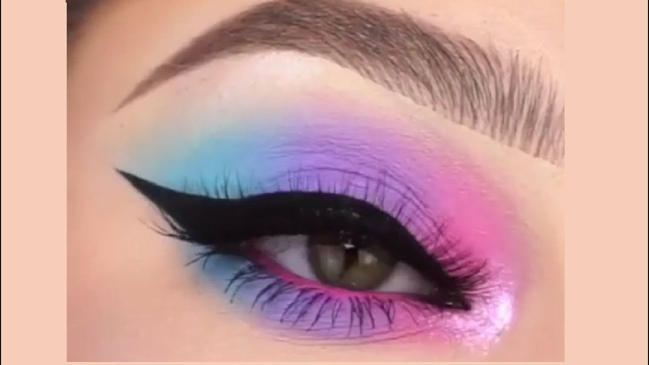 Photo of Cotton candy blend ♥ EYE MAKEUP SHORT TUTORIAL EP-6 ♥