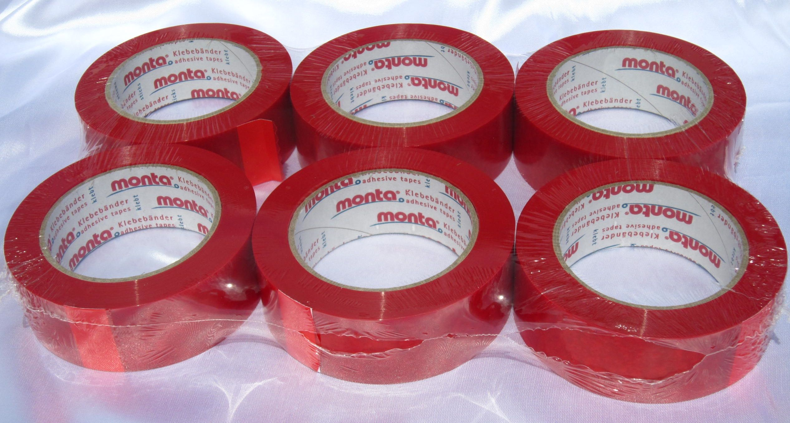 Monta Film 257 Red Thermoformable Adhesive Tape