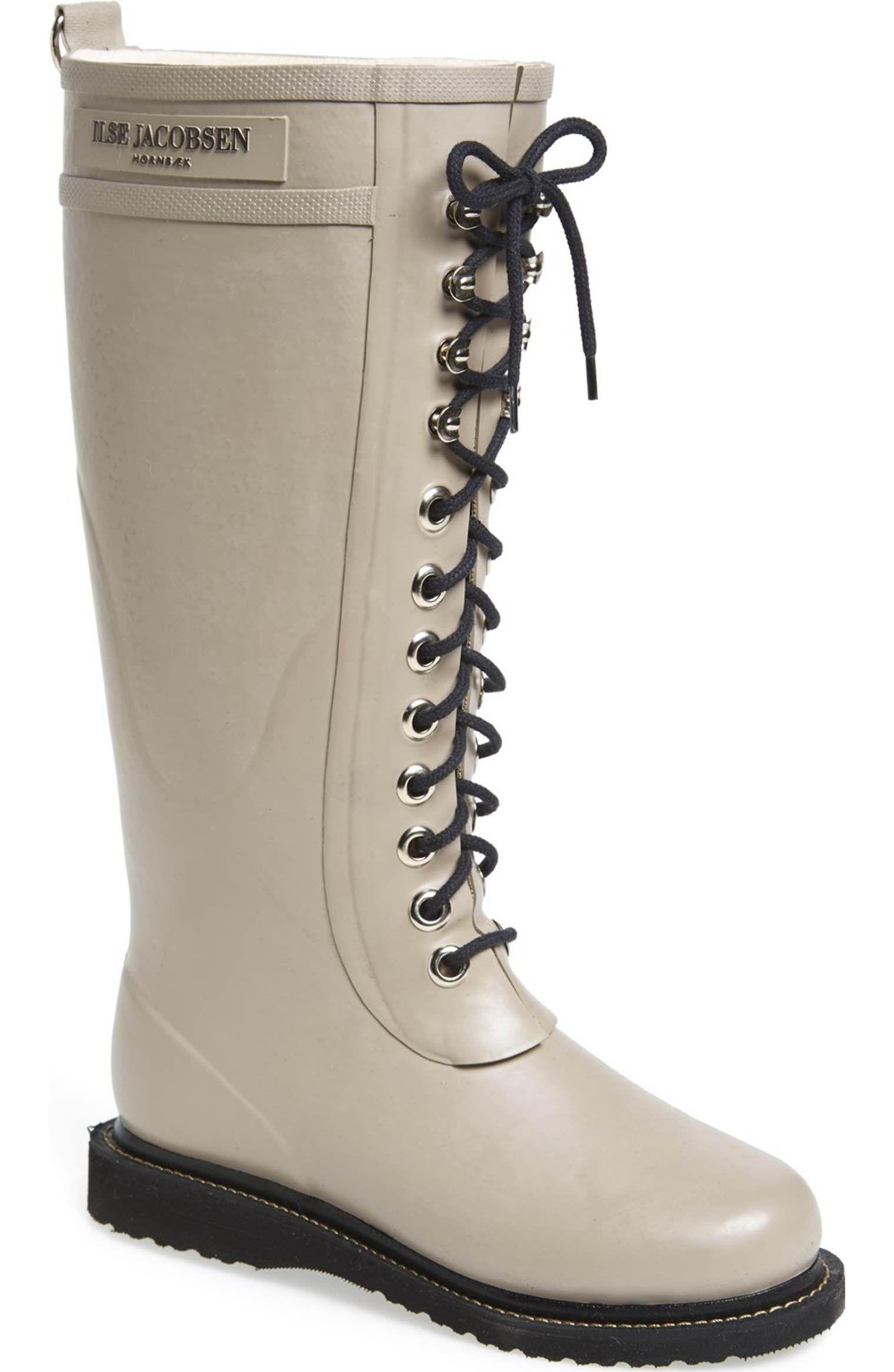 9a325c4905c4 Main Image - Ilse Jacobsen Hornbæk Rubber Boot (Women) (Wide Calf ...