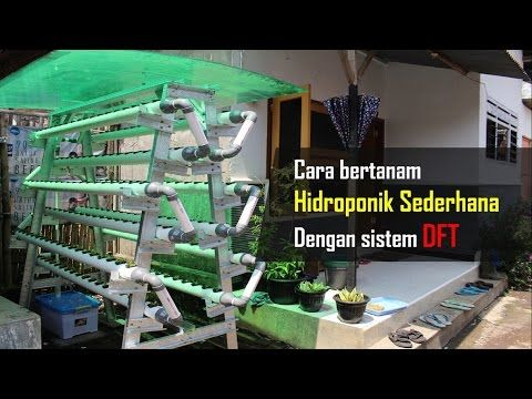 how to build a hydroponic garden. this video describing process of how to build hydroponic system at home from scratch (dft model). a garden