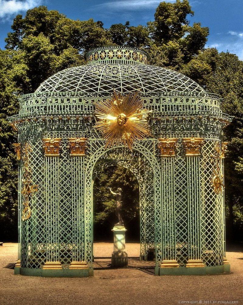 Palace of Versailles: garden detail | Metal Art. | Pinterest ...