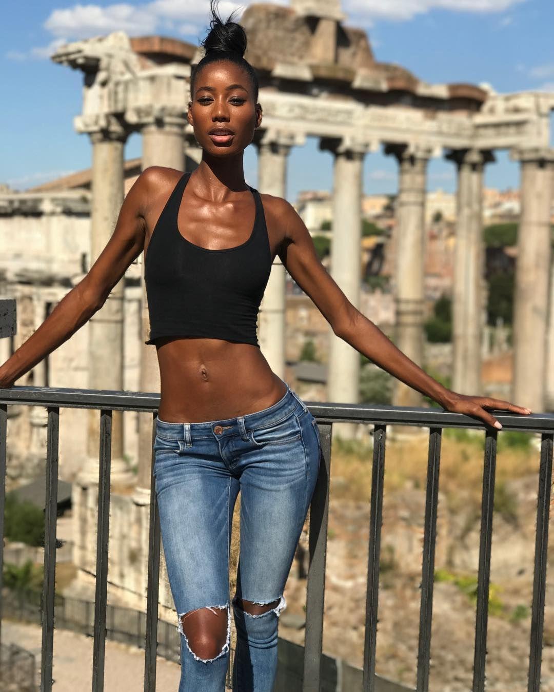 Skinniest girls — 1