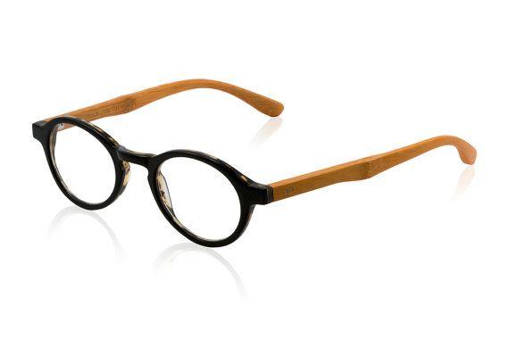 Cyrus EcoFriendly Bamboo Reading Glasses by Eynack on Etsy