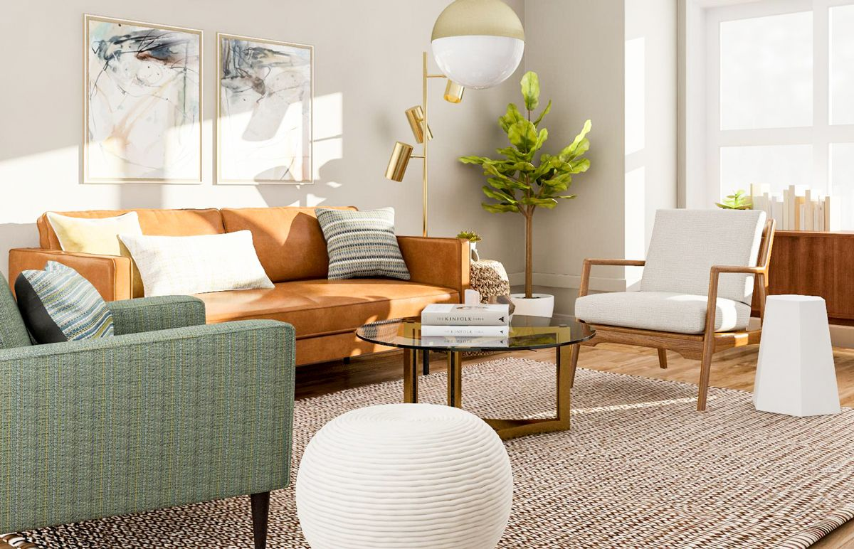 Modern Living Room Design - 5 Ways to Try a Mid-Century ...