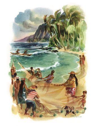 Giclee on Wood Hawaii