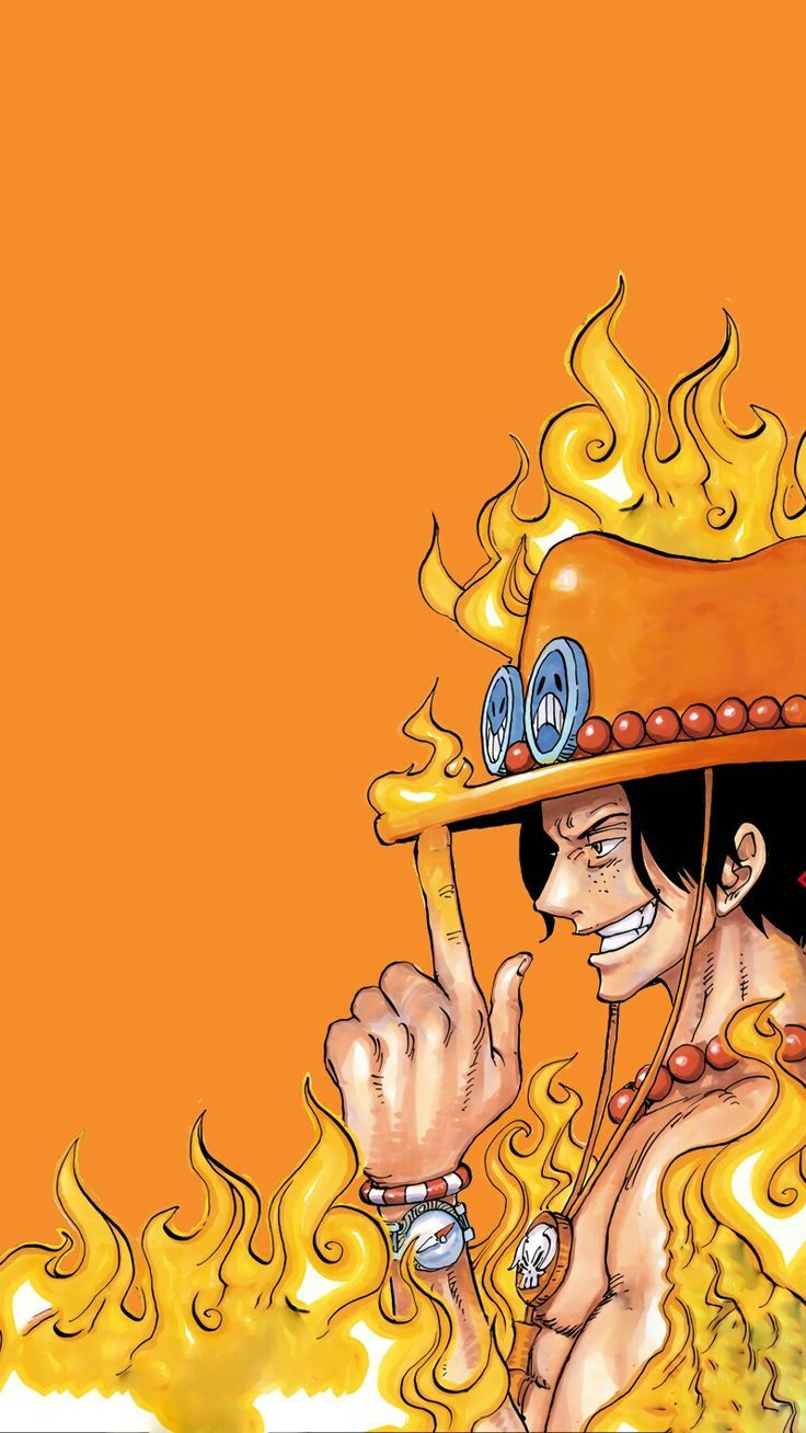 Ace One Piece Ace Piece ワンピース壁紙iphone 壁紙 アニメ