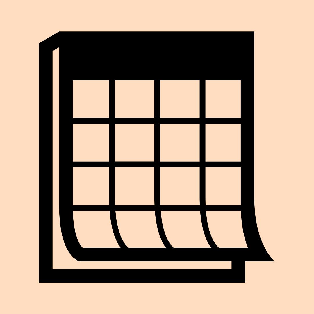 Beige Calendar Icon In 2020 App Icon Calendar App Inspiration App