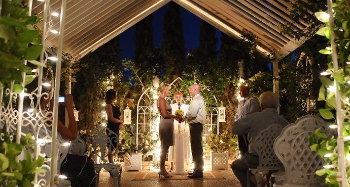 Las Vegas Outdoor Weddings Nighttime Garden Wedding Packages Outdoor Las Vegas Wedding Las Vegas Wedding Venue Las Vegas Wedding Packages