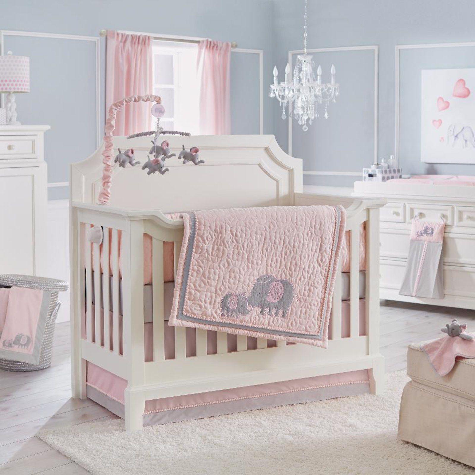 Koala Baby Elephant Dreams 4 Piece Crib Bedding Set