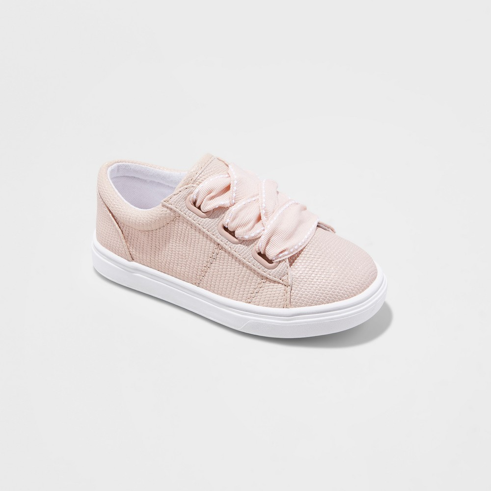 635334ae1 Toddler Girls  Arielle Low Top Sneakers - Cat   Jack Blush Peach 11 ...