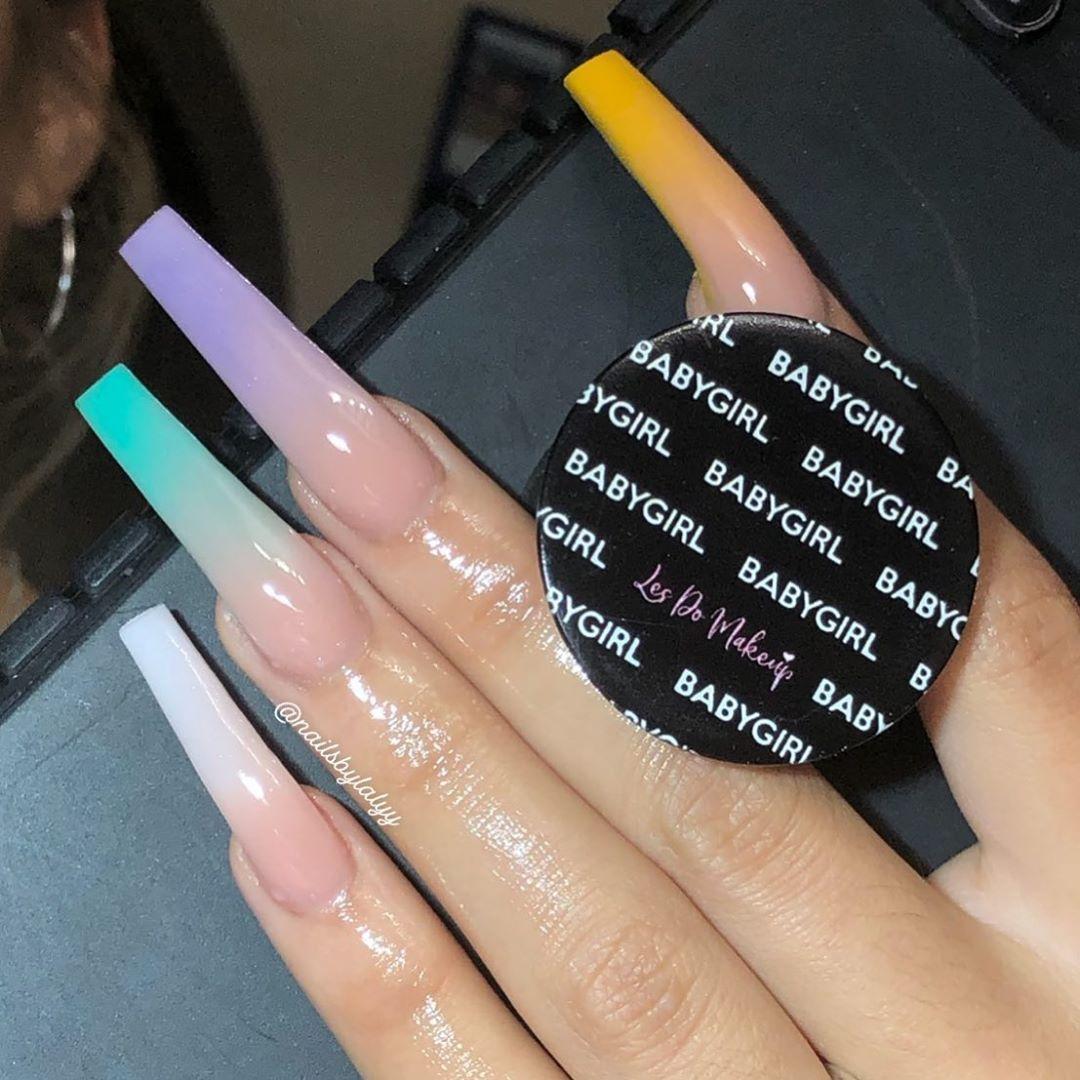 Ceelalyy On Instagram Lesdomakeup Leeexlieee Book Your Appointments Unasacrilicas Rhinestonenails N Long Acrylic Nails Bad Nails Cute Acrylic Nails