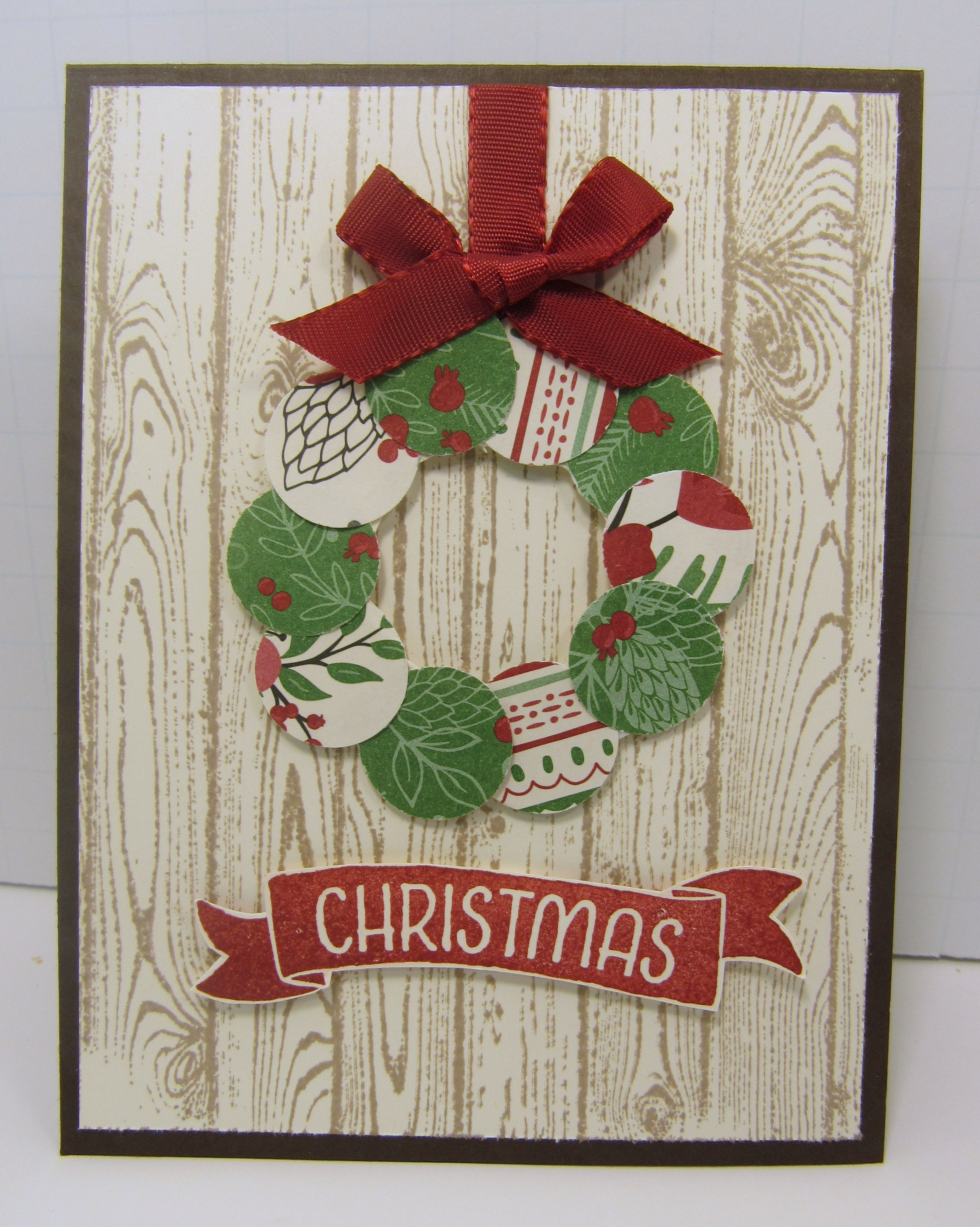 Идея открытки на рождество