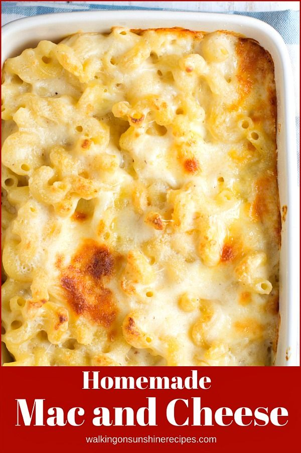 Easy Mac and Cheese Homemade Recipe that's Cheesy and Delicious! #macandcheeserecipe