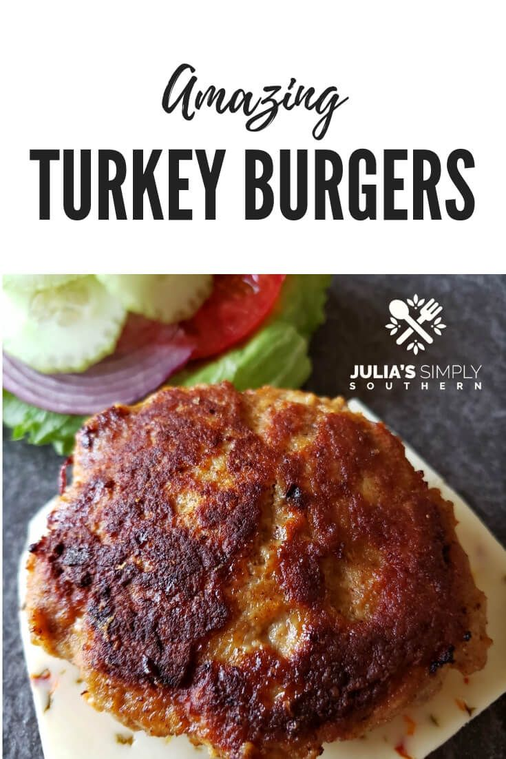 Photo of Amazing turkey burgers that are moist and flavorful. Grilling and stove top to o…