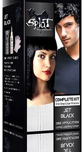 Splat Hair Jet Black