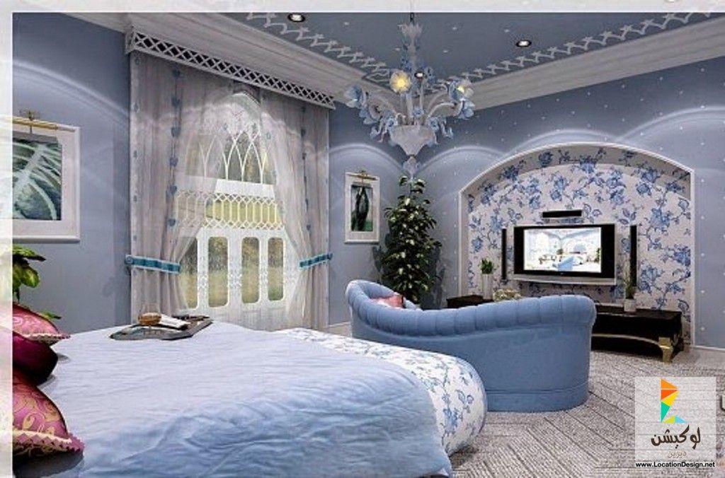 ديكور جبس غرف نوم عرسان Light Blue Rooms House Styles Blue Rooms