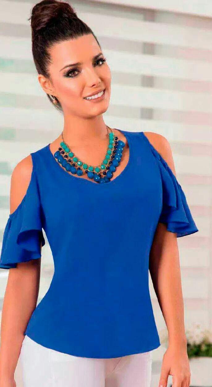 Pin de alba gonzalez en blusas para damas  94b2684a7bc5