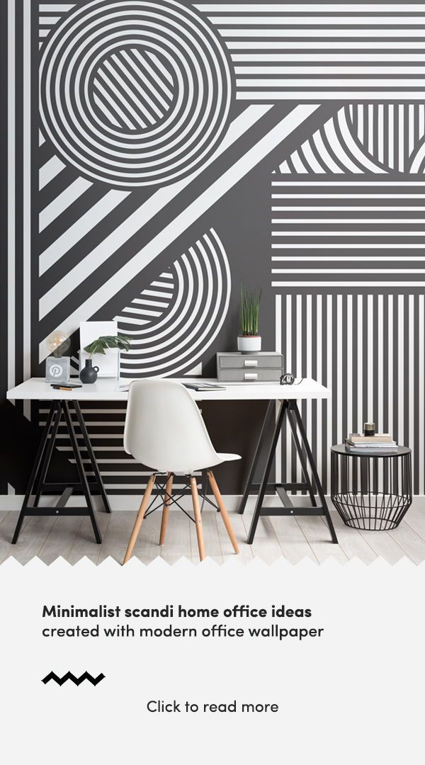 Black White Oriz Geometric Wallpaper Mural Hovia Uk Office Wallpaper Landscape Wallpaper Living Room Office Mural Black geometric wallpaper uk