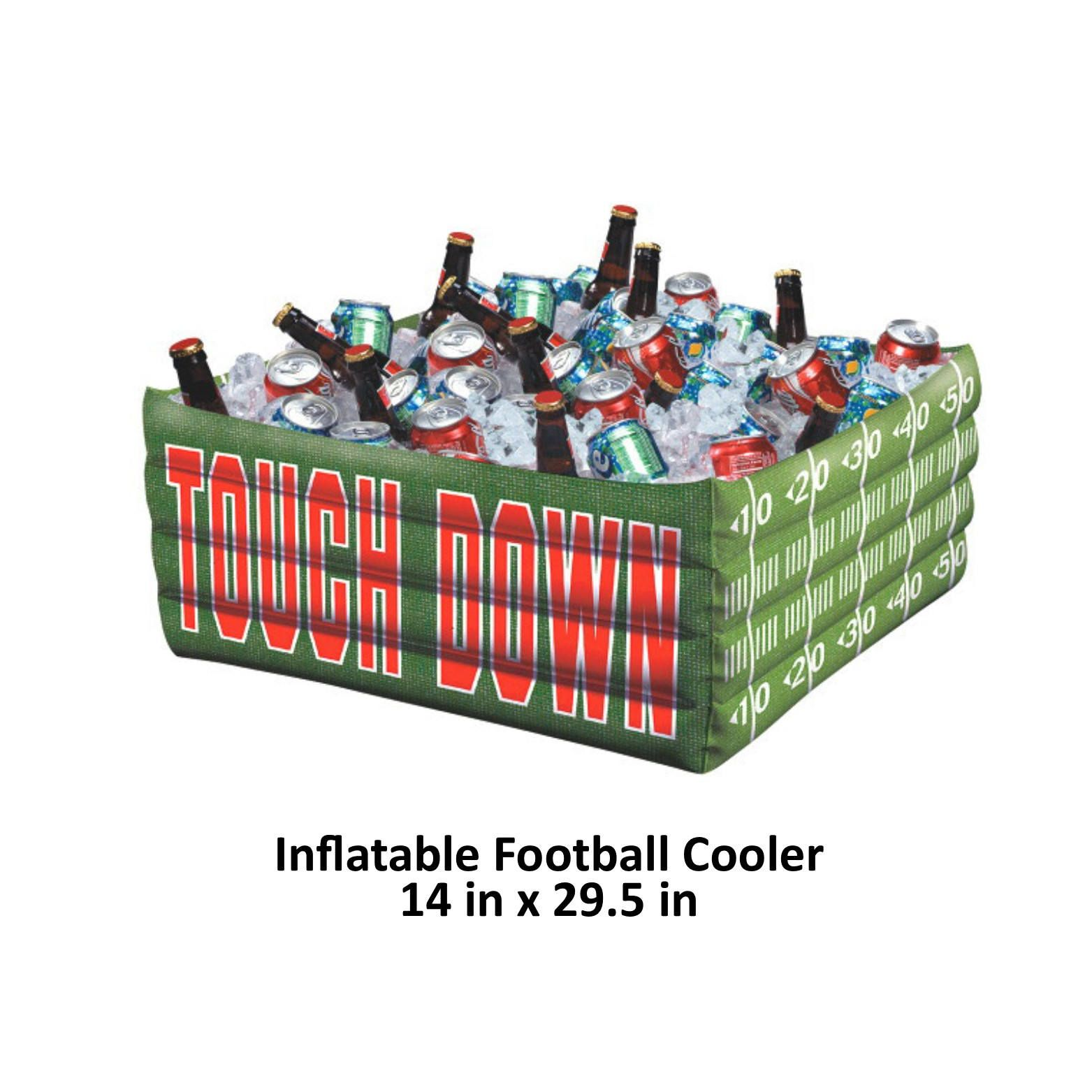Superbowl party inflatable buffet cooler super bowl 52 football superbowl party inflatable buffet cooler super bowl 52 football theme blow up drink junglespirit Images