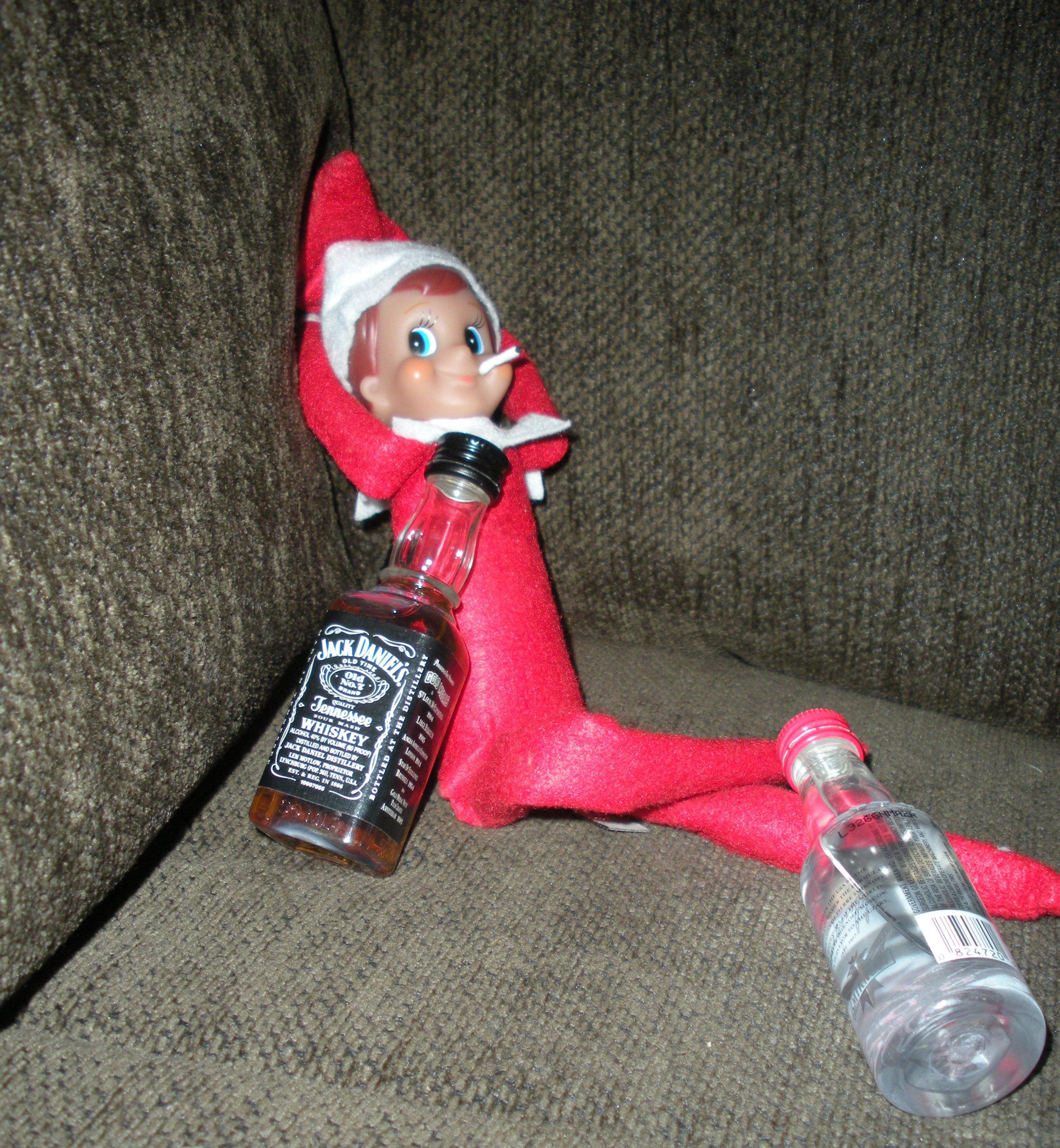 What Our Elf On The Shelf Is Really Up To When We're Not